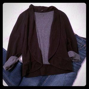 Express knit blazer